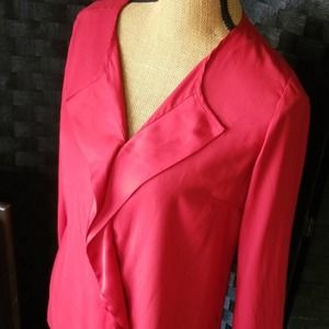 The Limited Holiday Blouse